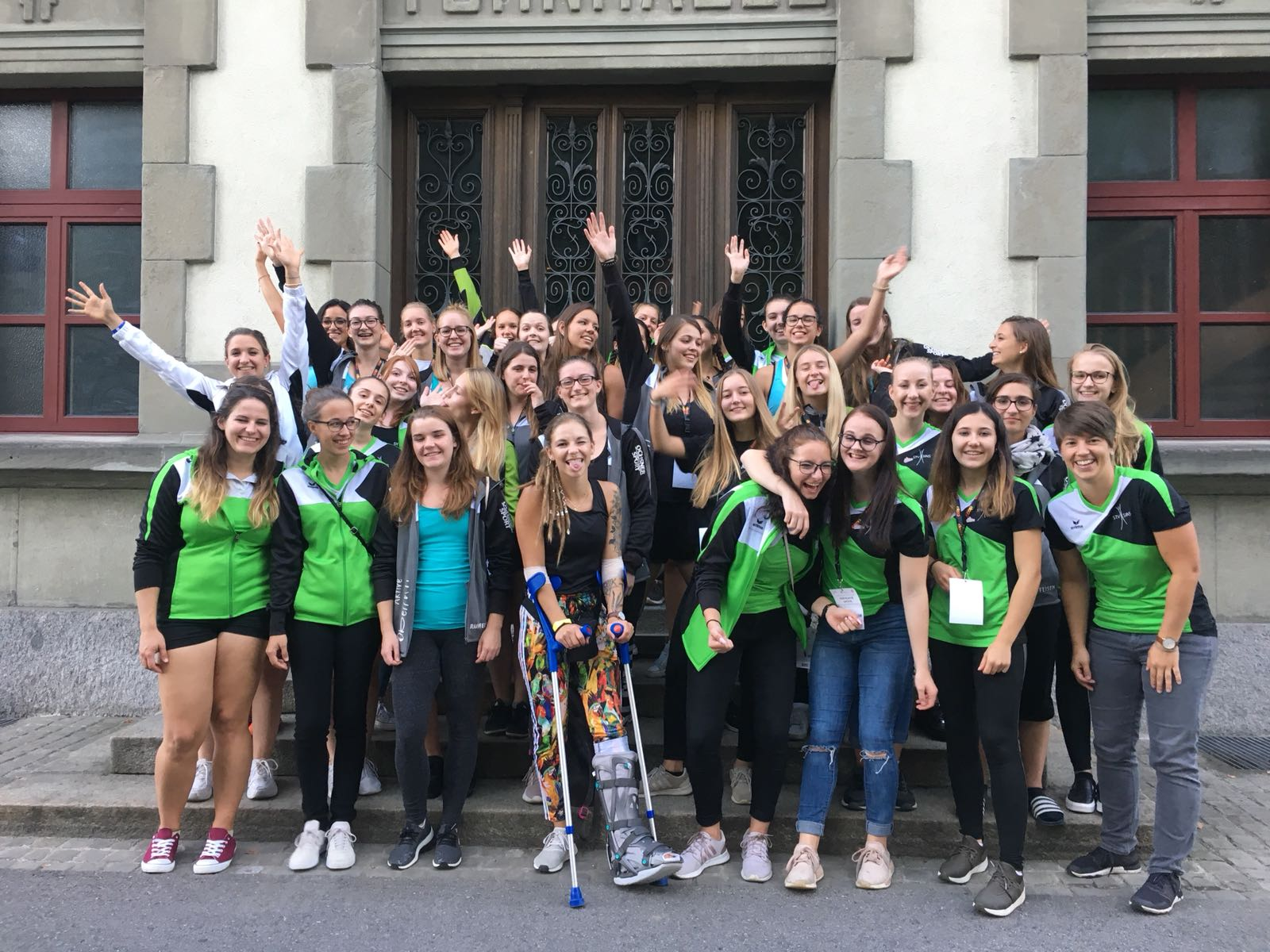 Schweizer Meisterschaften Vereinsturnen Aktive 2018