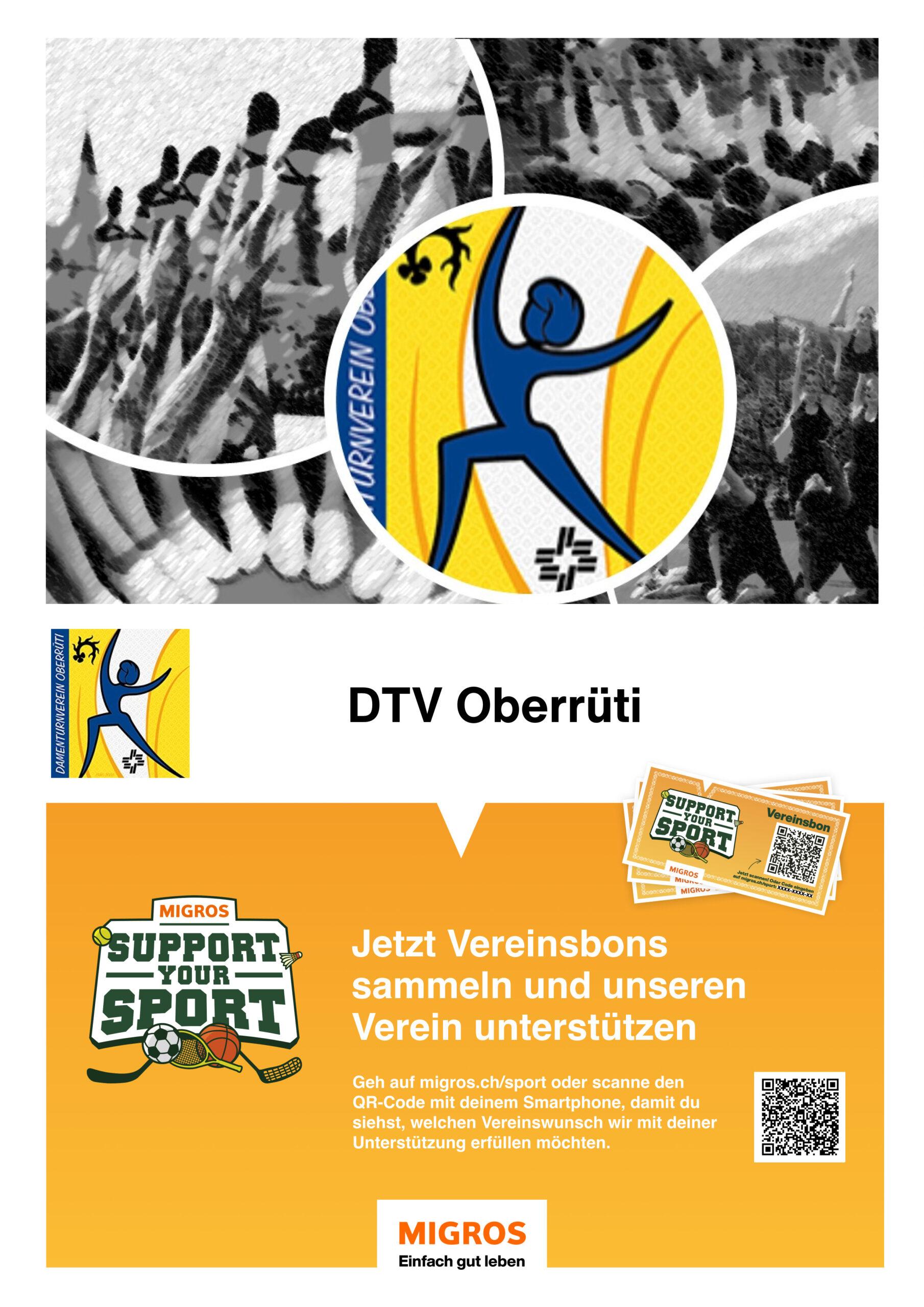 Unterstütze Uns Bei Migros Support Your Sport!